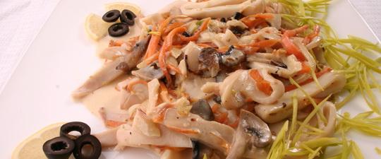 Кальмары рецепты для похудения