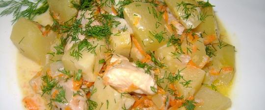 диетическая тушеная картошка стол номер 1