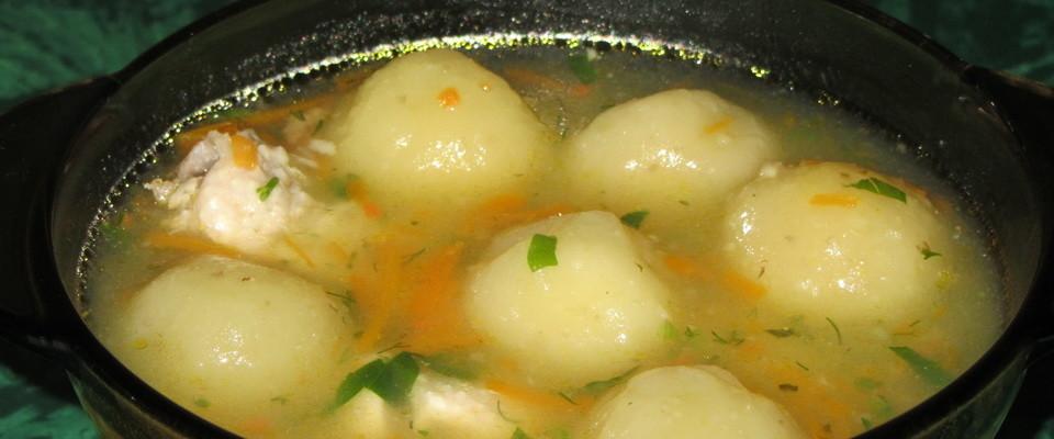 Мясные супы с клецками рецепты с фото