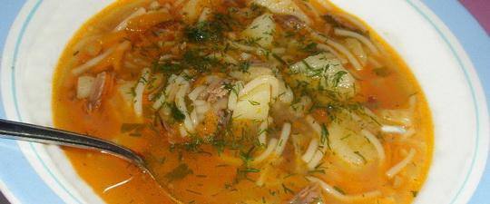 диетический картофельный суп
