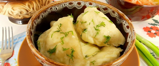 Вареники с картошкой, калорийность, польза и диетические свойства. Диета на варениках и галушках