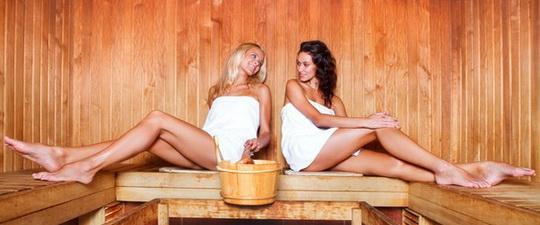 Как делают массаж в саунах
