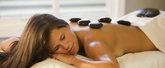Стоунтерапия массаж горячими камнями
