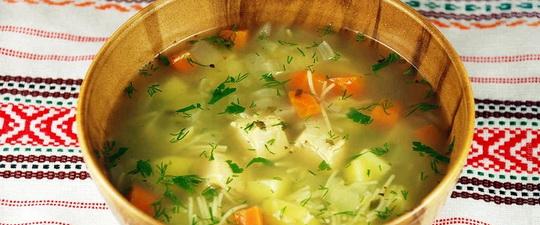 из чего приготовить суп с яйцом