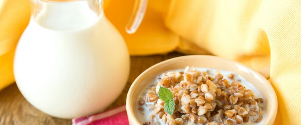 Кефирно гречневая диета на 7 дней